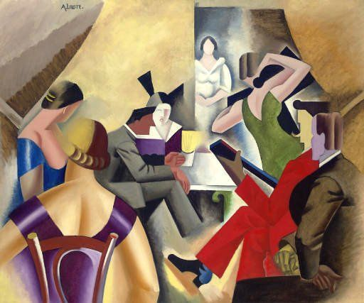 Gypsy Bar, 1920-25, Andre L'hote