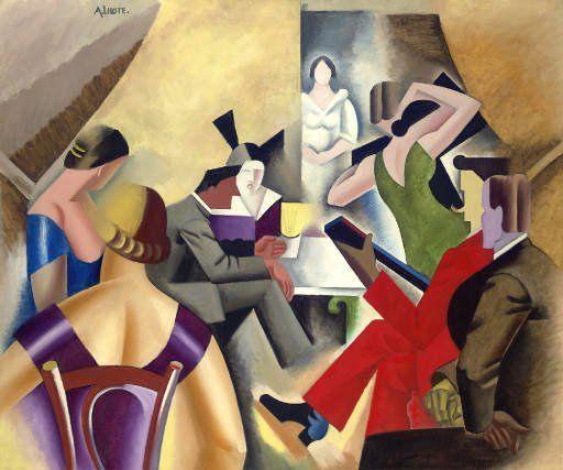 L'hote, Andre (1885-1962) - 1920-1925c. Gypsy Bar (Christie's New York, 2007) by RasMarley, via Flickr