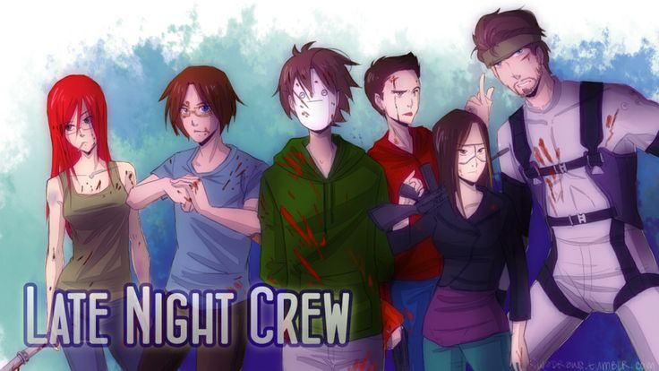 Cryaotic and the Late Night Crew; Red, Russ, Cry, Jund ...