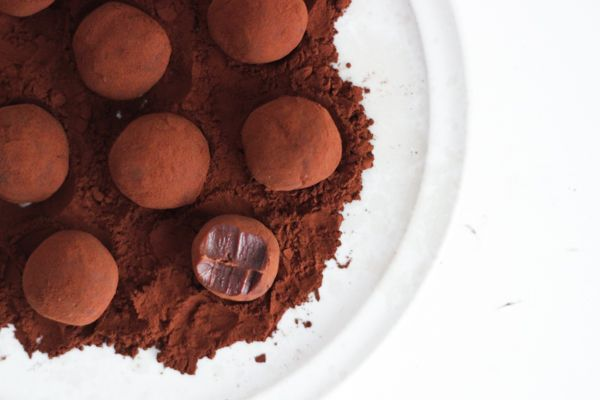 Saltkaramelchokoladetrøfler