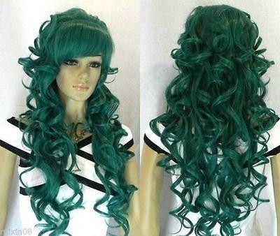 nike roshe run poison green\/black wig