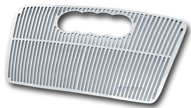 Audi A4  2006-2007 Polished Main Upper Perimeter Grille