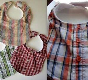 Recycler et transformer ses vieilles chemises                              …