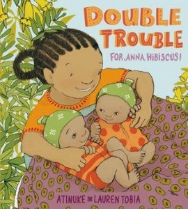 The Horn Book Review of Double Trouble for Anna Hibiscus as seen here https://n2252.myubam.com/c/1/new-titles?pagesize=60