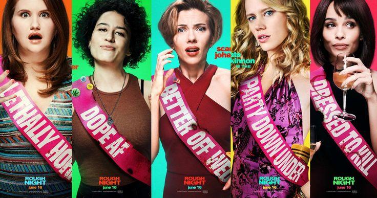 CINE ΣΕΡΡΕΣ, Rough Night (2017), Scarlett Johansson, Kate McKinnon, Zoë Kravitz, Lucia Aniello,