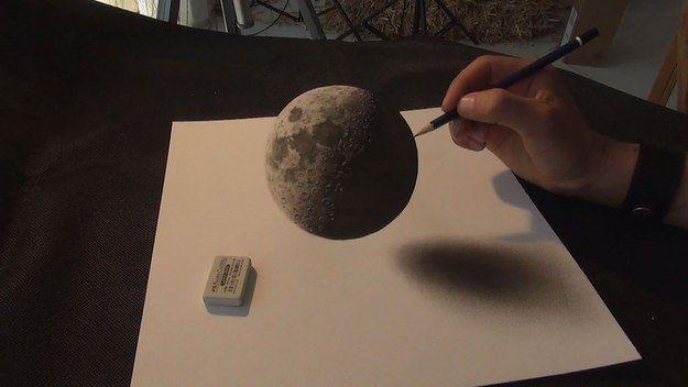 Eindrucksvolle 3D-Zeichnungen von Stefan Pabst ::: Stefan Pabst trickst unser Gehirn mit verblüffenden 3D-Zeichnungen aus. Der Nordrhein-Westfale hat ebenfalls einen eigenen Youtube-Channel (https://www.youtube.com/user/lanevski1), auf dem er den Entstehungsprozes seiner Werke in Zeitraffer-Videos darstellt.