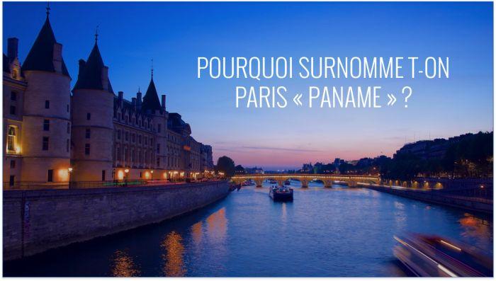 """<p style=""""text-align: justify;"""">Paname c'est la chanson de Léo Férré, l'argot des titis parisiens et celui des jeunes d'aujourd'hui. Chacun ( ..."""