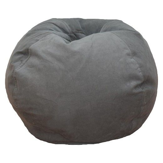 If you're looking for a neutral bean bag chair for your home, then grab this Medium Solid Cord Bean Bag from Reservation Seating™. The medium-sized bean bag chair is comfy and easy to crash on, and features a locking zipper to keep the bag's stuffing securely inside. This bean bag comes in a calming neutral hue to accent your TV room, basement or child's bedroom, and it includes a corduroy hand loop to make moving them from room to room a breeze.