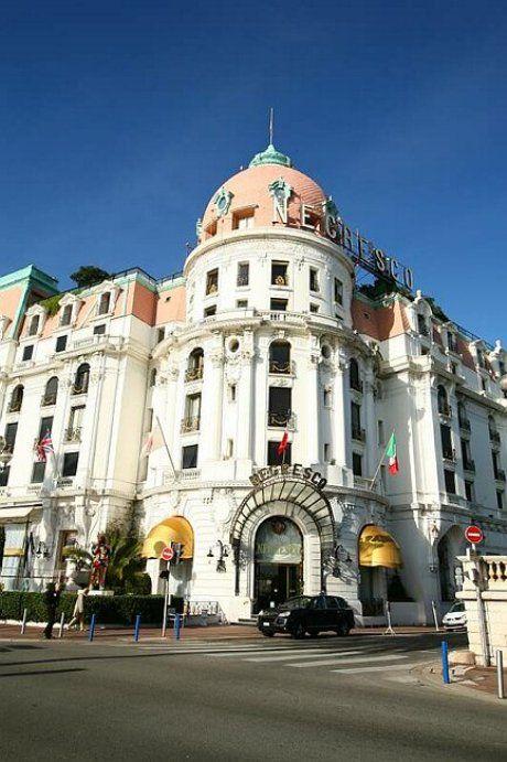 Hotel Negresco in Nice - so beautiful it is beyond fabulous!
