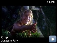 Jurassic Park - the original - just thinking about those water ripples gives me chills.
