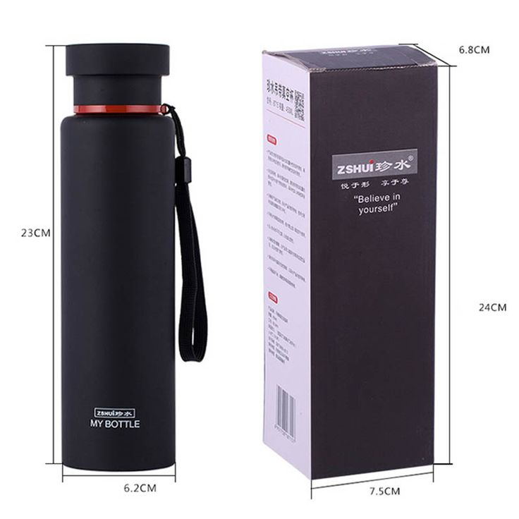 Classic Stainless Steel Thermos bottles water flasks travel mug coffee insulated cups tea thermal pot Engraving water bottles