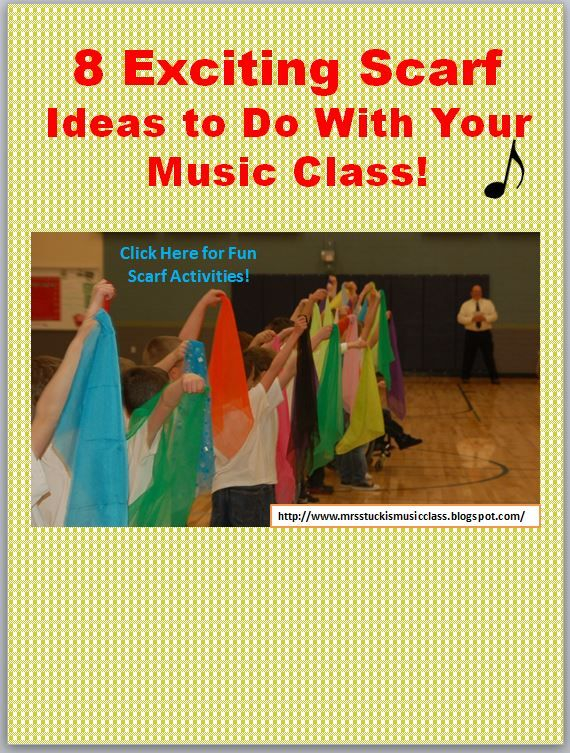 adding scarf activities to the music classroom