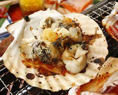 ツブ貝ガーリックバター焼き