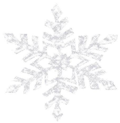 Shining Snowflake PNG Clipart Picture