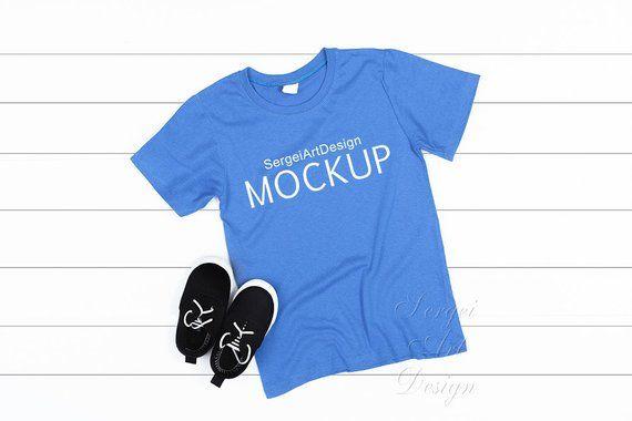 Download T Shirt Mock Up Flat Lay T Shirt T Shirt Photography Kids Etsy Shirt Mockup Kids Outfits Clothing Mockup