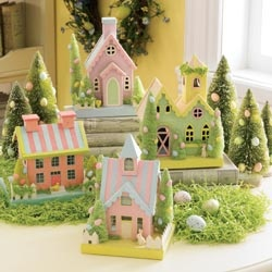 Cute Easter Village