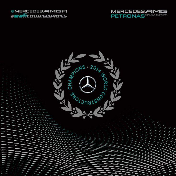 Mercedes AMG Petronas F1 Team | 2014 World Constructors ...