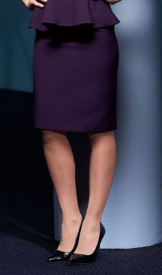 Practica Skirt, 23ins, Plum