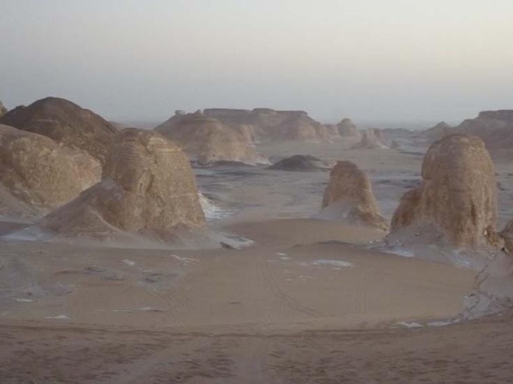 Wonders, White desert, Egypt