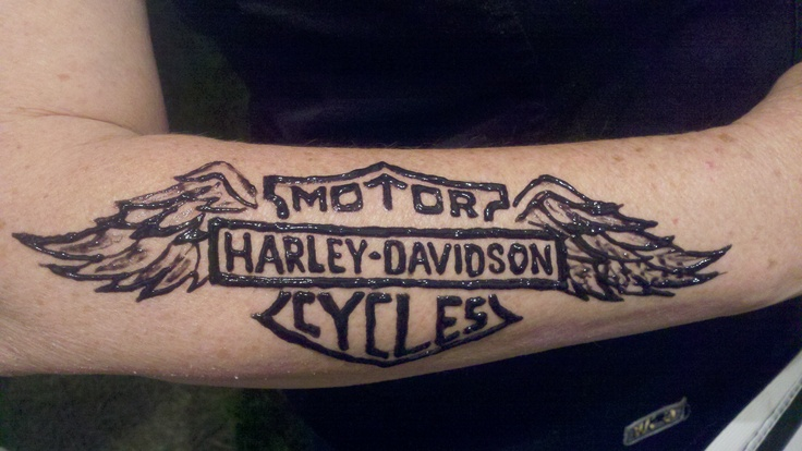 29++ Stunning Harley davidson tattoos with wings ideas in 2021
