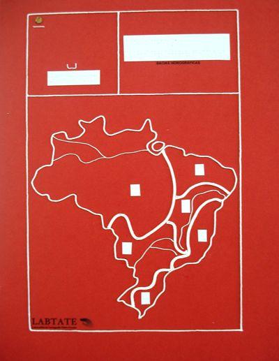 Imagem de matriz de produção de mapas na máquina Termocop
