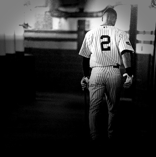 As much as I despised him during the glory days - it gets old losing to the Yankees - I have much respect for Derek Jeter as a player and leader.