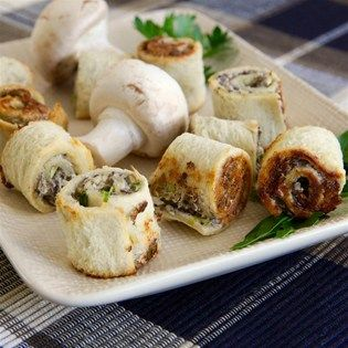 """Mushroom Bouchees I """"Absolutely awesome, amazing and magnifique! Had a potluck with 12 people and they all requested the recipe."""""""