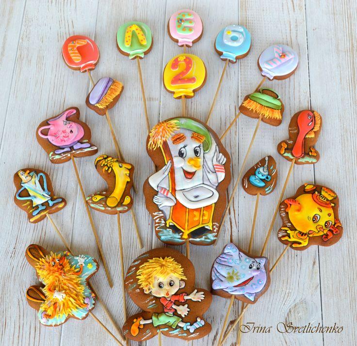 kids cookies Мойдодыр