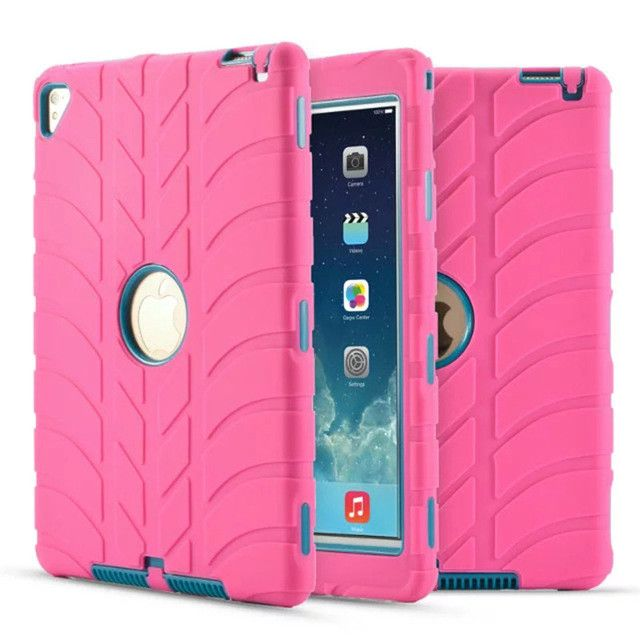 Carry360 New For iPad Air 2 Case Kids Silicone Heavy Duty Armor Shockproof Full Body Protective Hard Cover for iPad Pro 9.7 inch