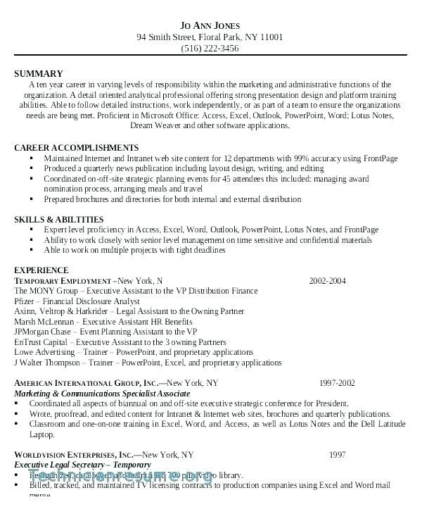 attorney resume templates corporate attorney resume sample ...