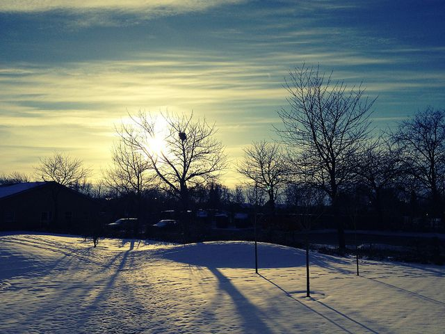 Winter sunlight by Sillalai_Rozzi, via Flickr