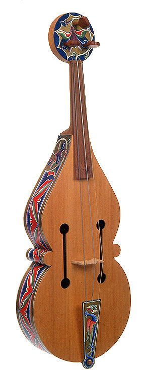 Medieval Musical Instruments   Vithele (medieval viol) - CMC 74-126/S93-314/CD95-707