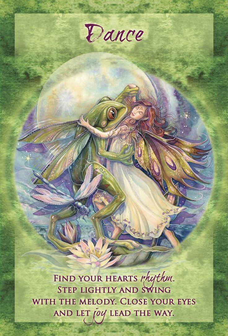 """Dance"" Magical Times Empowerment Cards par Jody Bergsma"