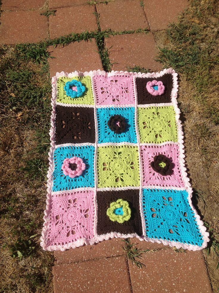 105 best Crochet Afghans -- Butterflies images on Pinterest ...