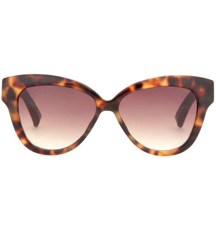 Next Quadratische Sonnenbrille, braun, Tortoiseshell Effect