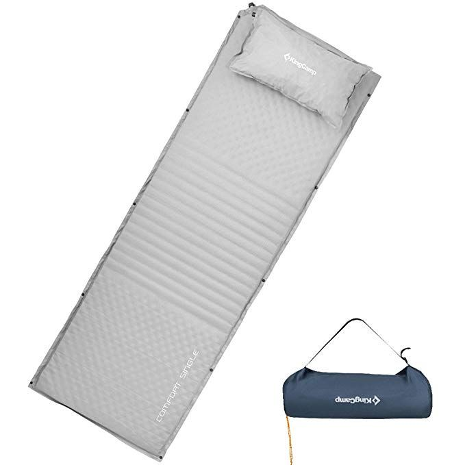 KingCamp Double Sleeping Pad Triple Zone Camping Mat with