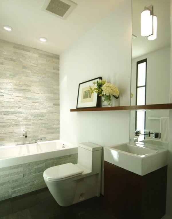 25+ parasta ideaa Pinterestissä Wandgestaltung bad Badezimmer - weißes badezimmer verschönern