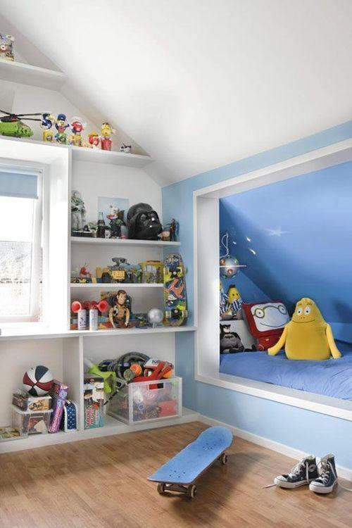 aménagement chambre d\'enfant sous combles | chambre enfant ...