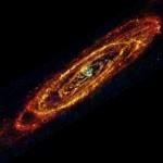 Andrómeda según el Herschel