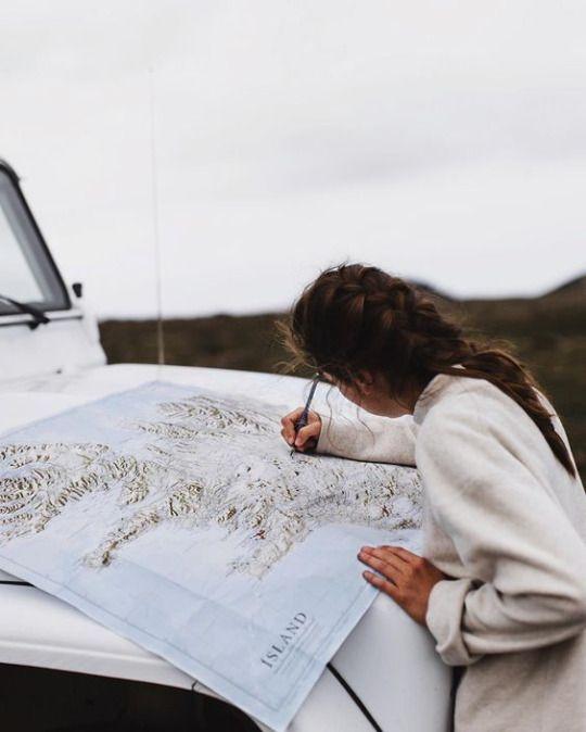 Planen Sie Ihre nächste Reise karte | Auto | Autoreise | einzigartiges erlebnis | Außenwerbun…