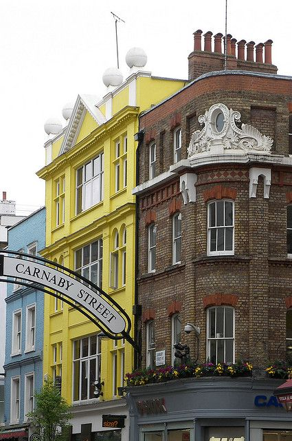 Carnaby Street-one of my favorite areas in London