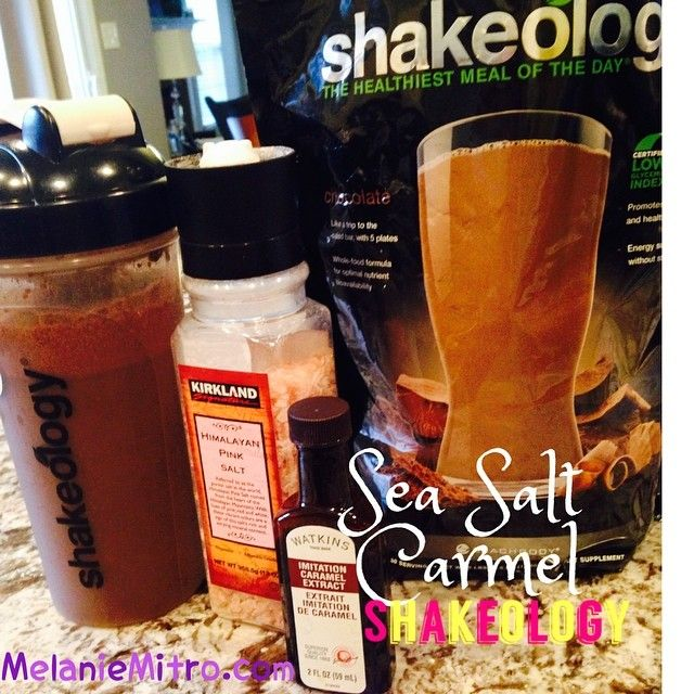 Sea Salt Caramel Shakeology Recipe, Melanie MItro, Committed To Getting Fit