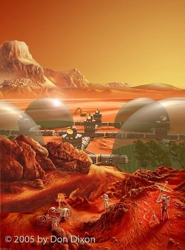 76 best Space Colonies images on Pinterest Retro