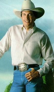George Strait- 60 years old and still hot! You god damn right Jim Sharp!