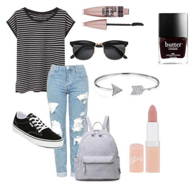 """#23"" by mercedes93 on Polyvore featuring moda, MANGO, Topshop, Vans, Bling Jewelry, Rimmel i Maybelline"
