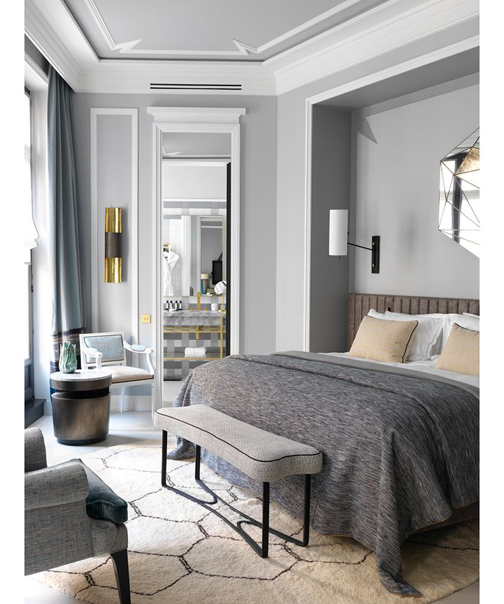 A new six-floor hotel, the Nolinski, opens in the heart of Paris with Grand Salon, spa and brasserie, combining contemporary and classic interior design by Jean-Louis Deniot.