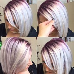 blonde hair with red roots - Google Search