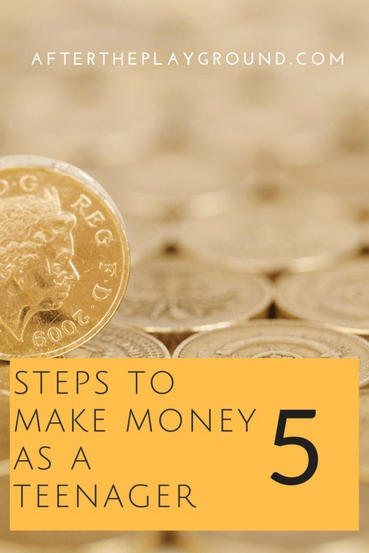 Making money as a teenager – Teach Kids About Money