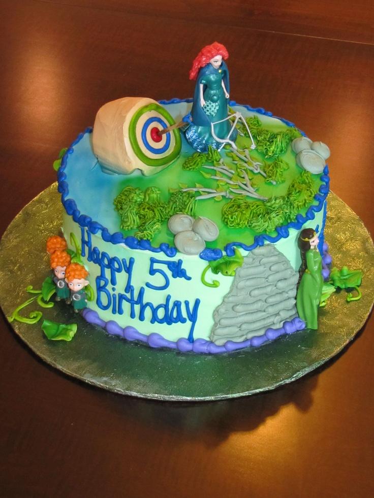 Brave Merida Birthday Cake Merida Pinterest Birthday