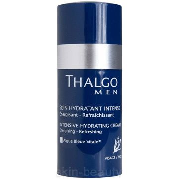 Thalgo Men Intensive Hydrating Cream is a fresh non-oily cream and an all day moisturizer that relieves tight feeling skin. It is a great first product for men adopting a new skincare routine.
